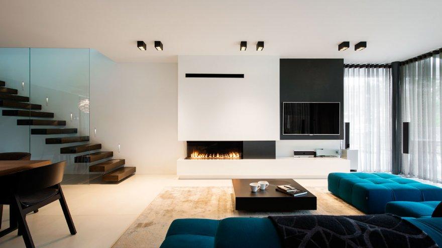 modernistlik, villa